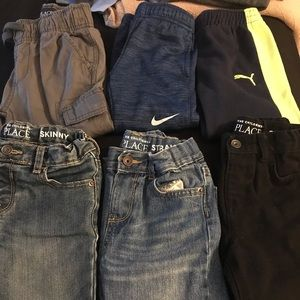 Baby & Toddler Clothing 2019 New Style Boys Lot 9 Months Pants 4 Piece Jeans Joggers Carters Circo Cherokee Denim Khaki